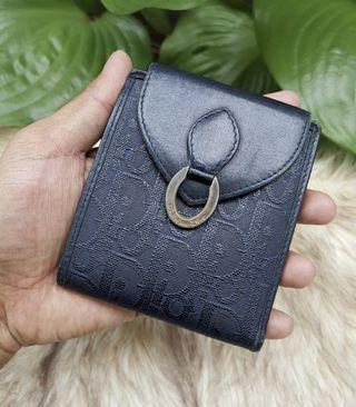 ❌RARE❌100% AUTHENTIC VINTAGE CHRISTIAN DIOR BIFOLD WALLET 8 CREDIT CARD SLOTS in EXCELLENT CONDITION