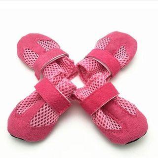 Pet Shoes Mesh Simple Sporty