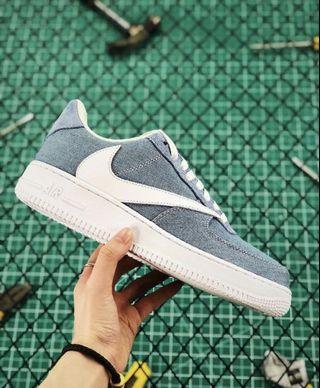 Nike Air Force 1 X Travis Scott Premium Cactus Jack
