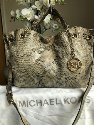 Michael Kors Snake Leather Authentic