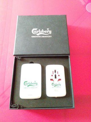 🚚 CARLSBERG Portable Power Bank & Charger