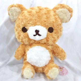 🚚 37cm Original JP Rilakkuma Rose Boa Plush Toy XL