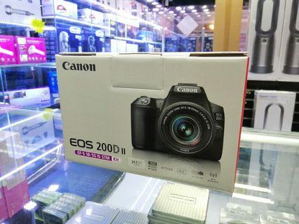 [實體店] Canon EOS 200D II kit 18-55 IS STM  (平行進口) 議價不回
