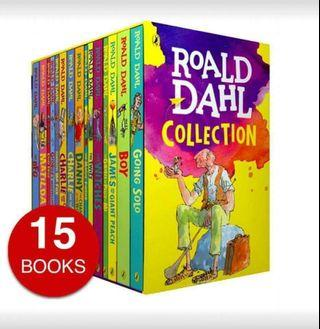 💗💗Roald Dahl Complete Collection,  Box Set - 15 books💗💗