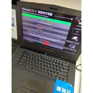 $7599 特價陳列品手提電腦,DELL Alienware ALW15C-R3760 遊戲專用筆記型電腦,震撼的視覺效能。以鎂合金打造,具備優異的電池續航力及 CPU 動態超頻技術。 1年原廠保養,數量有限,先到先得。
