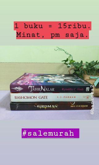 Buku 15ribuan #salemurah