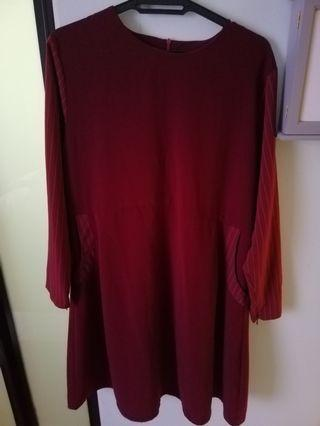Maroon Blouse (free)