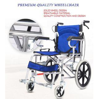 PREMIUM QUALITY WHEELCHAIR,  COMPACT AND LIGHT WEIGHT