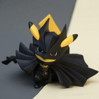 竉物小精靈比卡超 Pokemon cosplay 蝙蝠俠 場景擺件