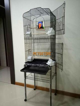 Cage with stand (Black)