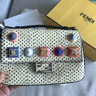 🚚 Fendi double micro Baguette bag F07FJ