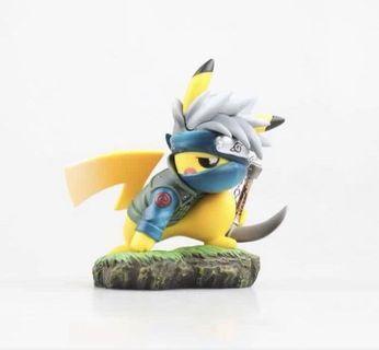 竉物小精靈比卡超 Pokemon cosplay 卡卡西 比卡超場景擺件