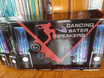Dancing Water Speaker audio