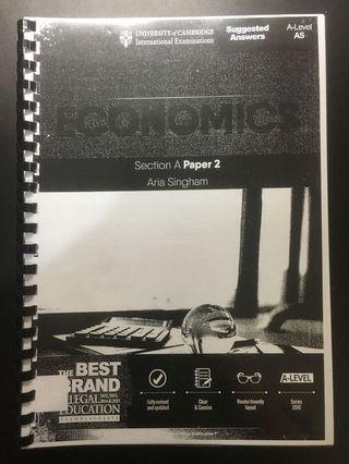 Economics Paper 2 A Level