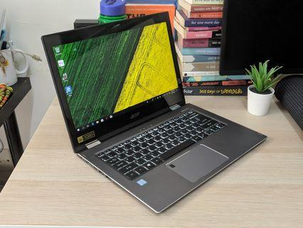 Acer Spin 5 Ultrabook i5-8250U 256gb SSD 8gb RAM Touchscreen