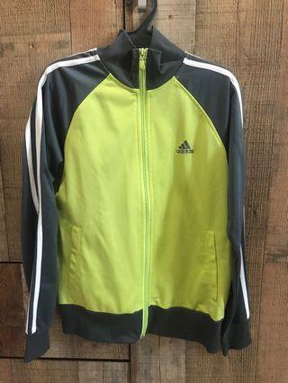 Adidas Neon Green Jacket