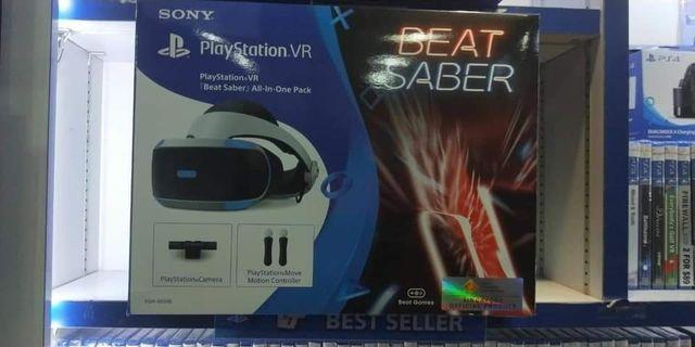 VR beat saber
