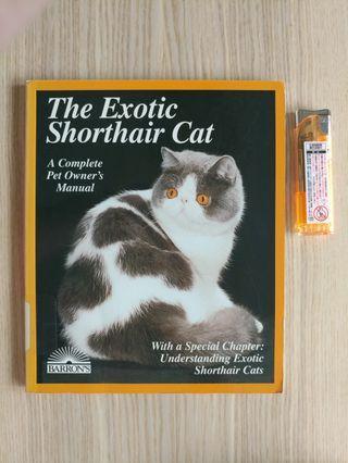 中古 The Exotic Shorthair Cat ISBN  0812098226 Barrons