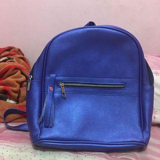 Tas Ransel Biru / Backpack Biru