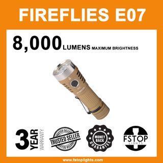 ★ Fireflies E07 2,300 Lumens Pocket Rocket Flashlight (Desert Brown)