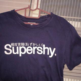 supershy graphic tee