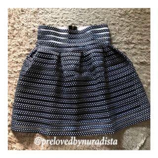 Mini Skirt Polka Blue #joinjuli