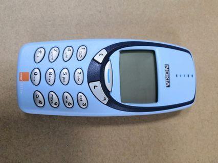 全正常NOKIA3330手提電話,跟2電一火牛