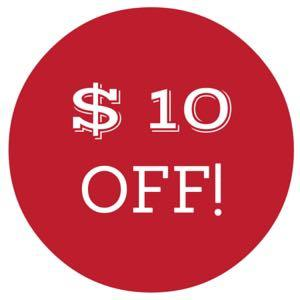 $10 off if you buy 2 products!!!!!