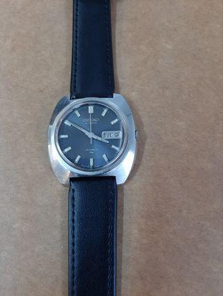 Collectible April 1973 Seiko Men's Blue Pearl Dial