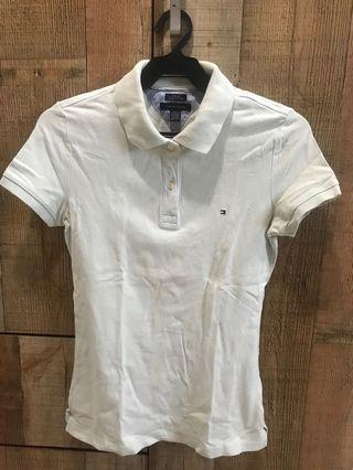 Authentic Tommy Hilfiger Polo Short in Mint Blue