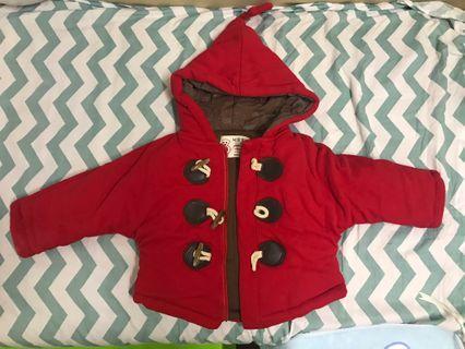 小紅帽純棉外套
