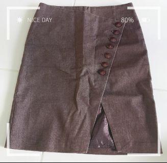 BYSI Brown Skirt