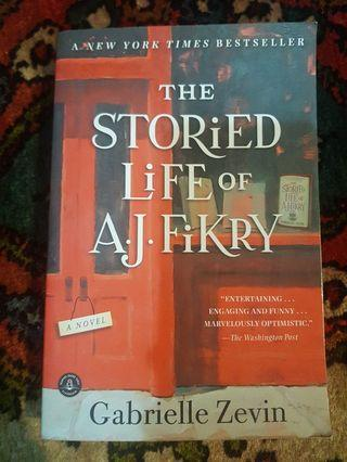 The storied life of a.j. fikry-gabrielle zevin