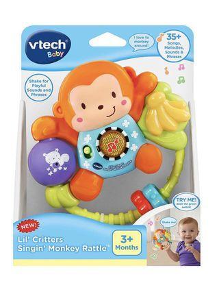 VTech Lil' Critters Singin' Monkey Rattle