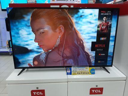 TV TCL 55 Inch Bunga Ringan Bisa Kredit