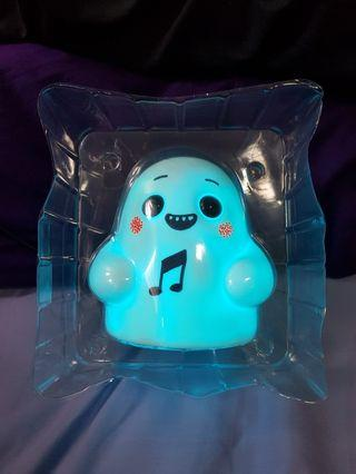 Tiny Ghost OG White signed by Reis O'Brien custom with light up feature