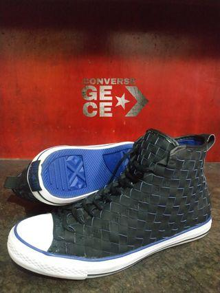 Converse WOVEN LEATHER BLACK ELECTR LIMITED EDITION