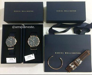 🚚 💯Daniel Wellington Cornwall Couple Watch INSTOCKS (Actual pic)