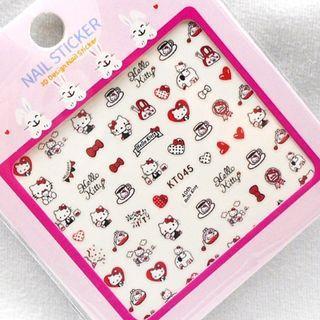 BNIP Sanrio Hello Kitty party children kids cute Nail stickers nail art nail decal