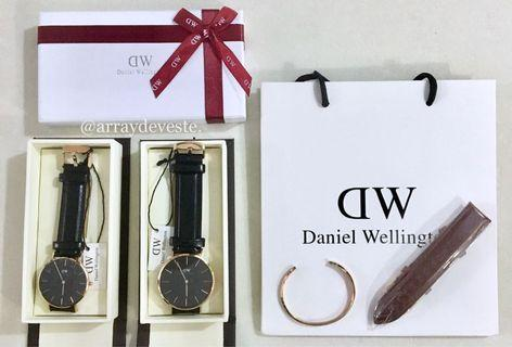 🚚 💯Daniel Wellington Sheffield Leather Watch INSTOCKS (Actual pic)