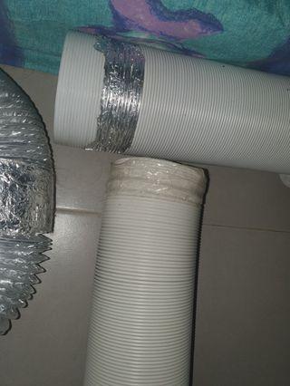 Portable aircon hose