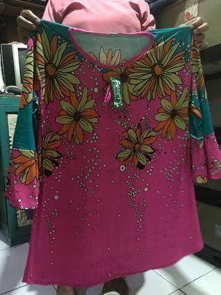 #maugopay blouse flower wanita