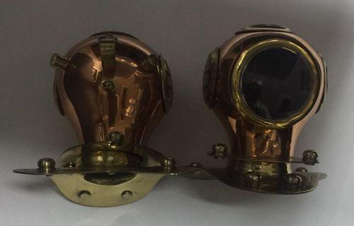 Copper n Brass diver hood