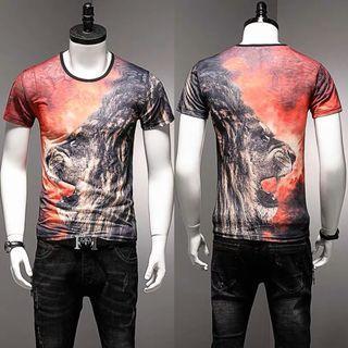 🚚 Men Tshirt Short Sleeve Ice Silk Soft Elastic Cooling 664