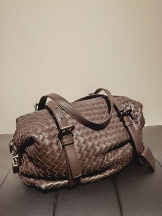 Bottega venneta duffle brown