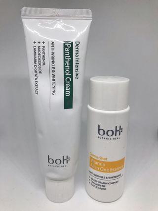 Botanic Heal boH Derma Intensive Panthenol Cream 50ml Essence 50ml