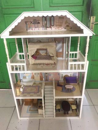 Rumah barbie kidkraft