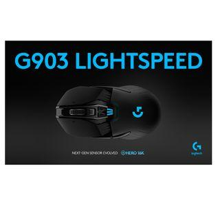 Logitech G903 LIGHTSPEED HERO WIRELESS GAMING MOUSE 16K DPI