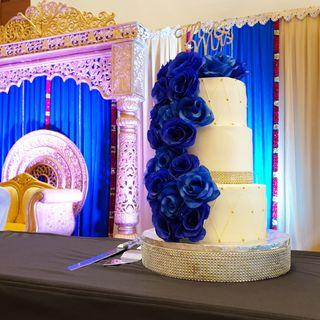 🚚 3 tier wedding cake