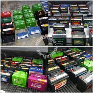 Car Battery Second Bateri kereta Second Delivery 24hour